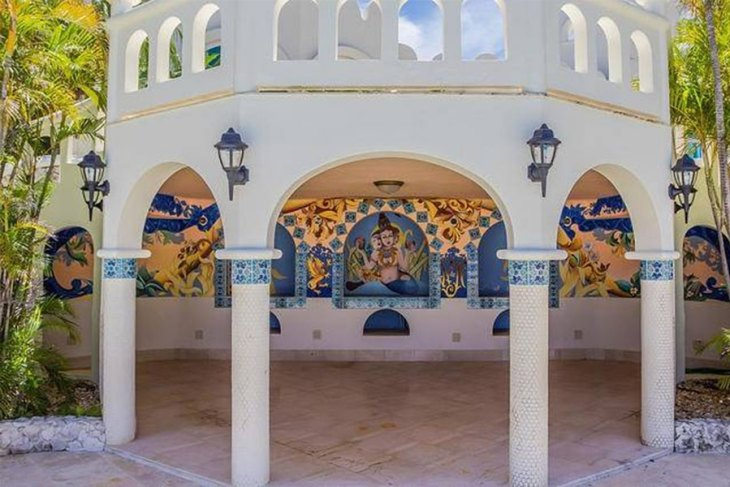 Virgin Islands Castle: Mermaid Murals