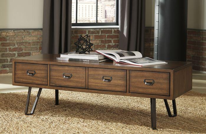 Retro Wooden Coffee Tables | 17 Stories | Karmane Coffee Table