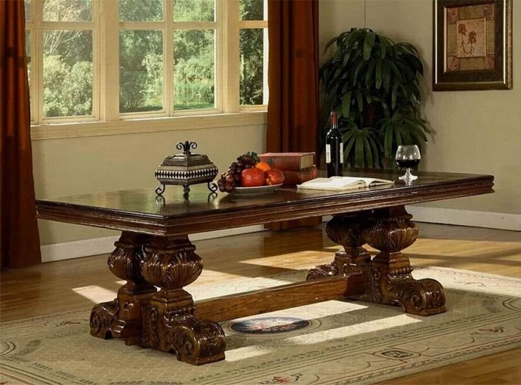 Traditional Wooden Coffee Tables | Eastern Legends | Tuscano Coffee Table