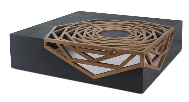 Modern Wood Coffee Tables | Oggetti | Hanako Coffee Table