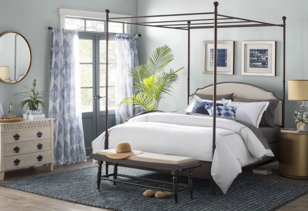 Modern Canopy Beds  Rockledge Queen Bed
