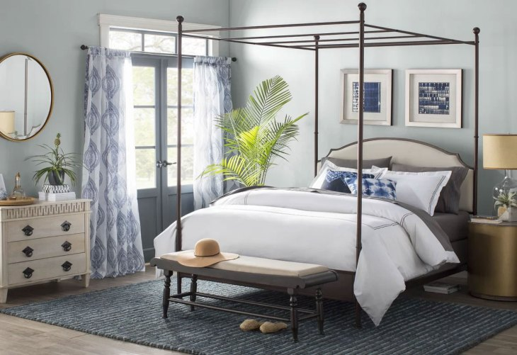 Modern Canopy Beds| Rockledge Queen Bed