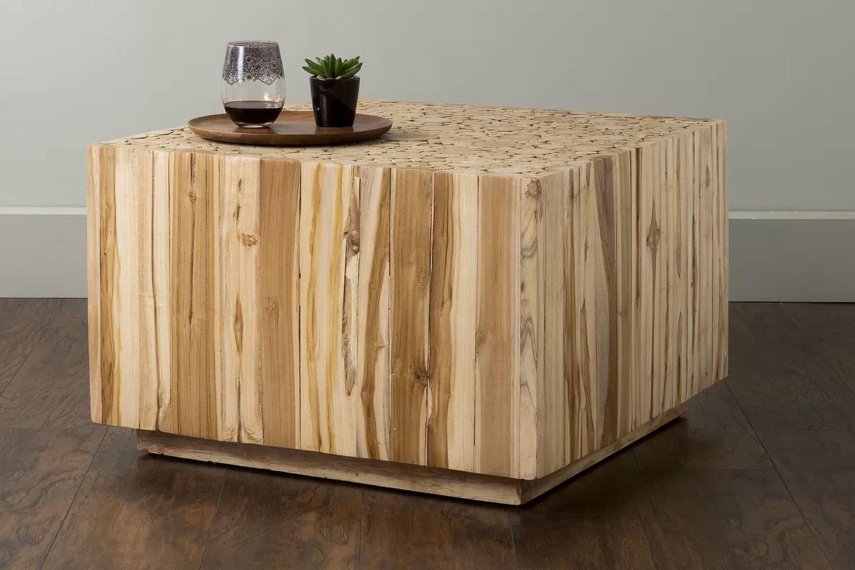 Augusta Teak Wood Coffee Table