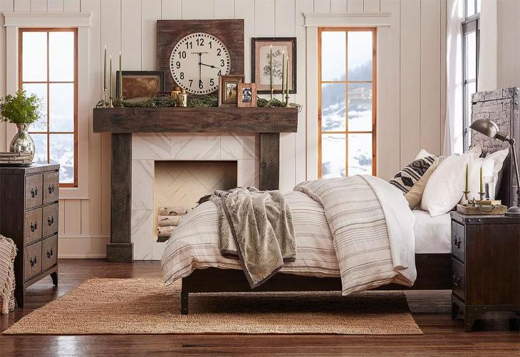 Barnwood Country Bedroom