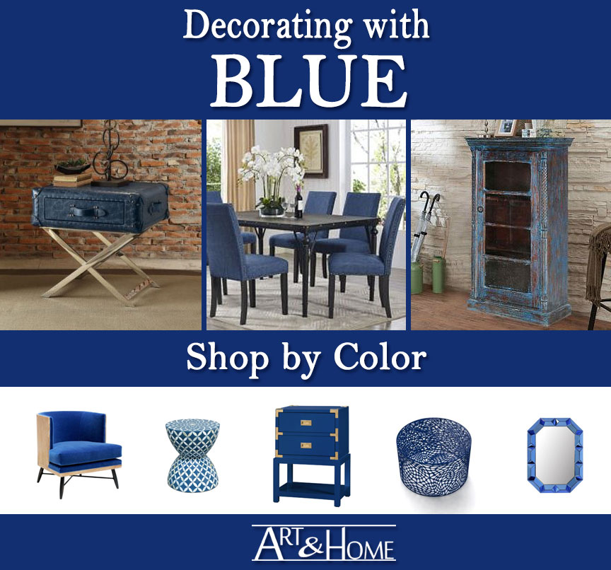 Blue Furniture & Home Decor Accents