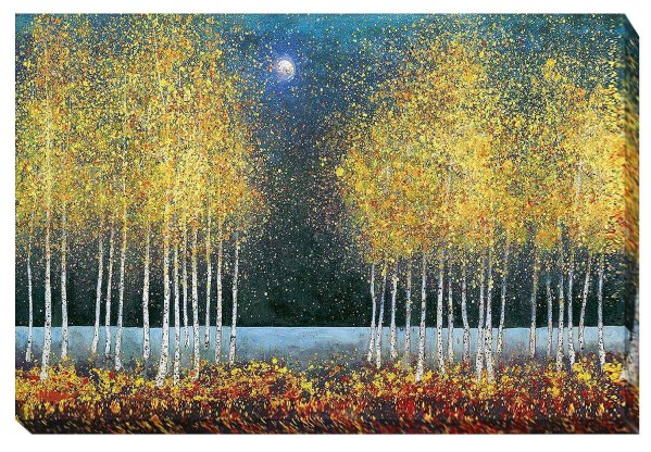 Blue Moon   Melissa Graves Brown   Gallery-Wrapped Canvas Art