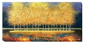 Golden Stand | Melissa Graves Brown | Gallery-Wrapped Canvas Art