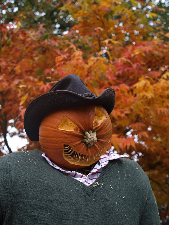 Halloween Pumpkin Carving Ideas | Scarecrow Pumpkin
