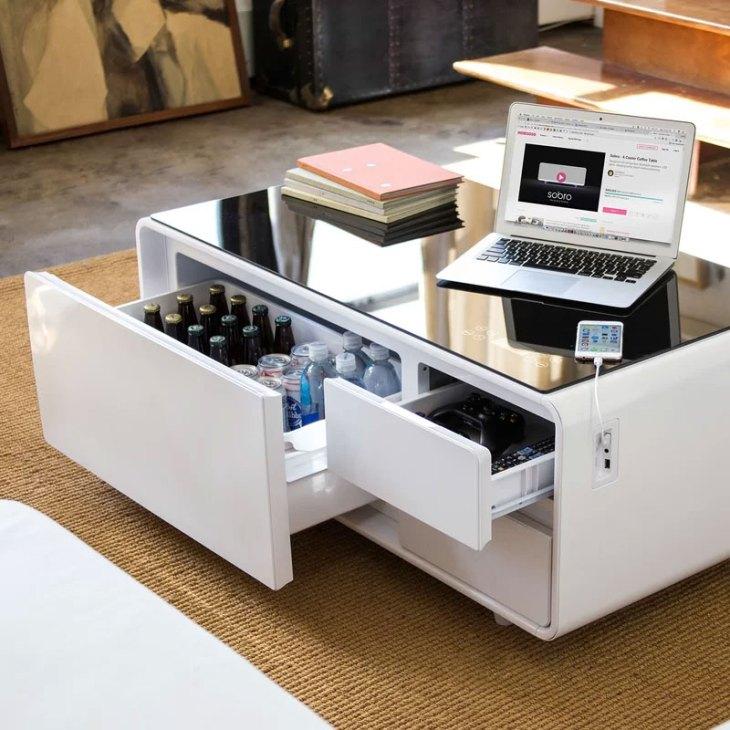 Cool Coffee Tables | Sobro Smart Coffee Table