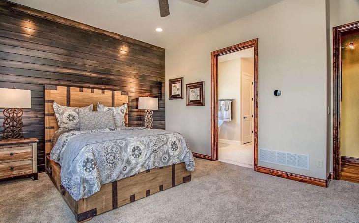 Warm & Rustic Master Bedroom