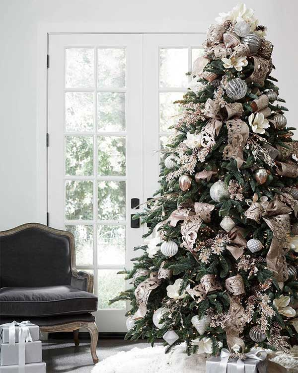 Beautiful Christmas Trees French Country Christmas Tree