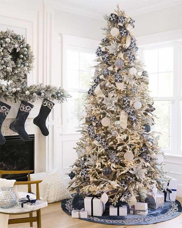 Beautiful Christmas Trees Midnight Frost Christmas Tree