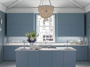 Blue Kitchens We Love