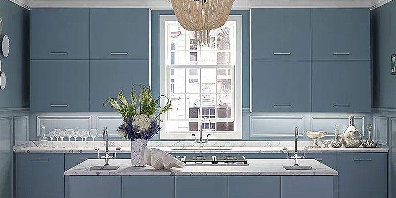 Blue Kitchens We Love
