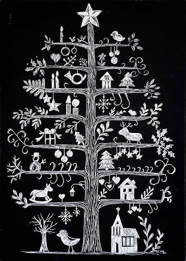 The Chalkboard Christmas Tree