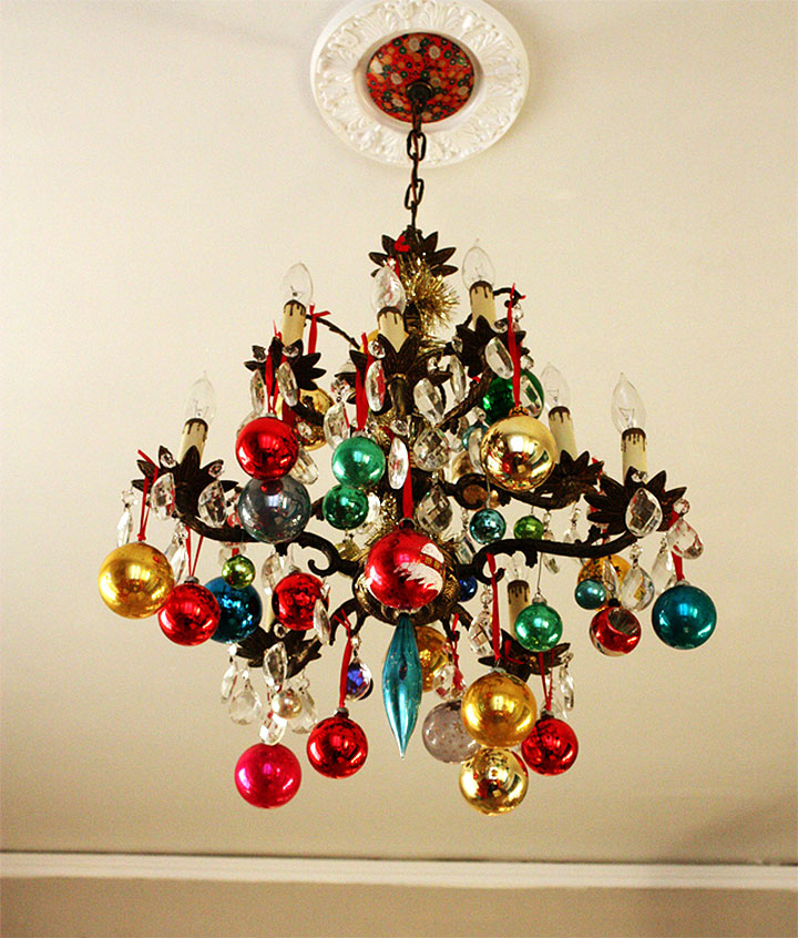 Ornamental Christmas Chandelier