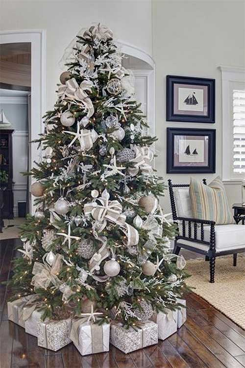 Christmas Tree Decorations Seaside Tree
