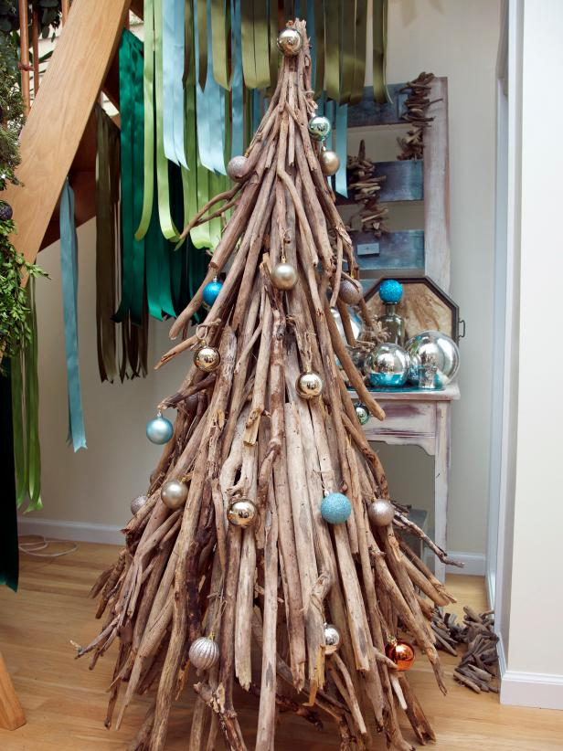 Coastal Driftwood Christmas Tree Alternative