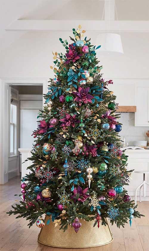 Beautiful Christmas Trees   Holiday Masquerade Christmas Tree