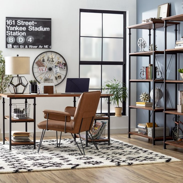 Masculine Decor Accessories in the office
