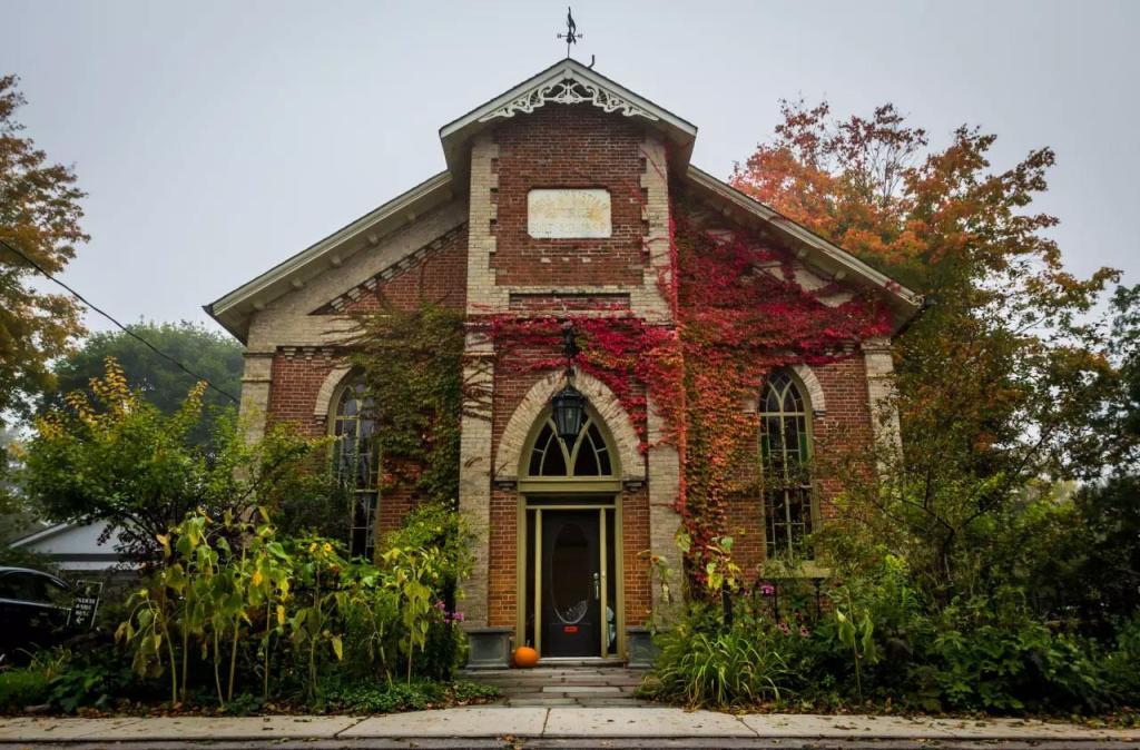 - Contemporist 1869 Gothic Revival Converted Church in Kawartha Lakes, Ontario