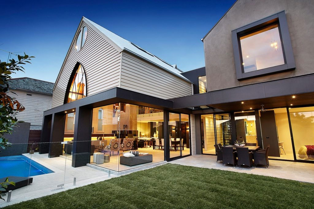 Converted Church House in Melbourne