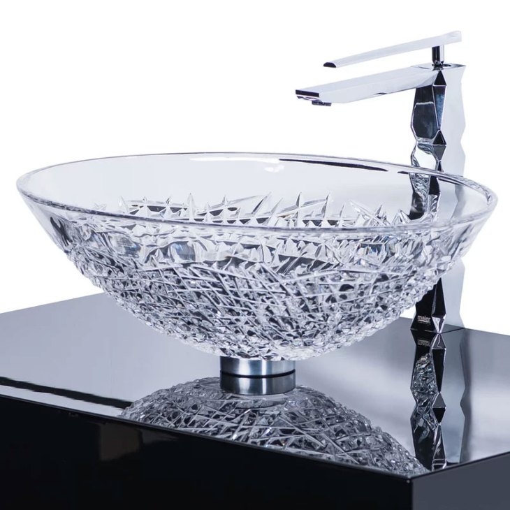 Diamante Luxury Crystal Vessel Sink