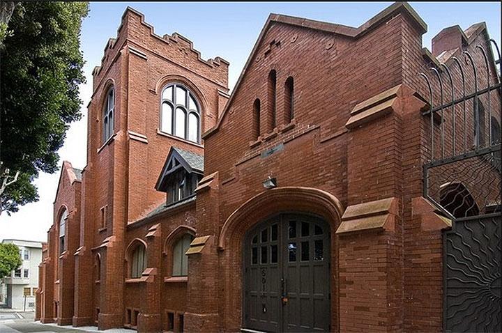 Golden Lutheran Converted Church in San Francisco