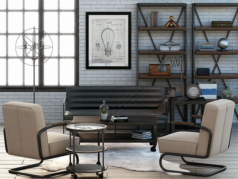 Living Room Layout Example