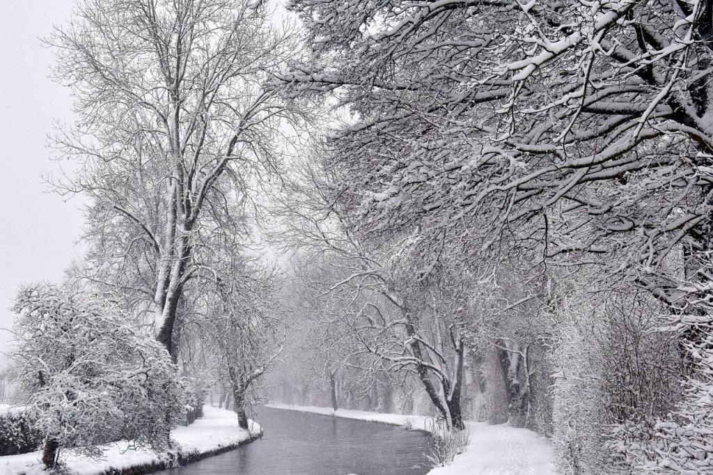 Rivers Bend Winter Scene
