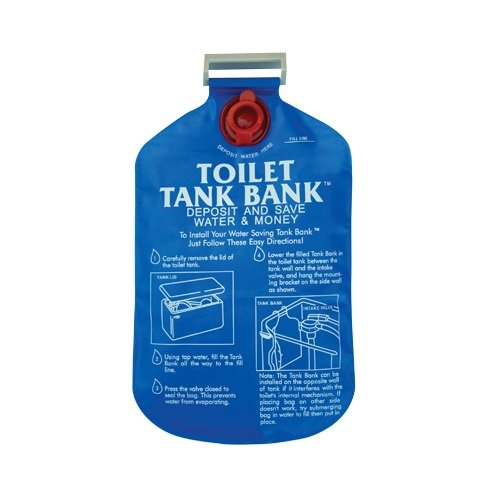 Install a Toilet Tank Bag for Water Conservation