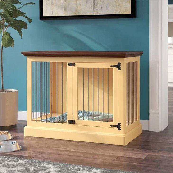 Brooke Single Medium Credenza Dog Crate Furniture
