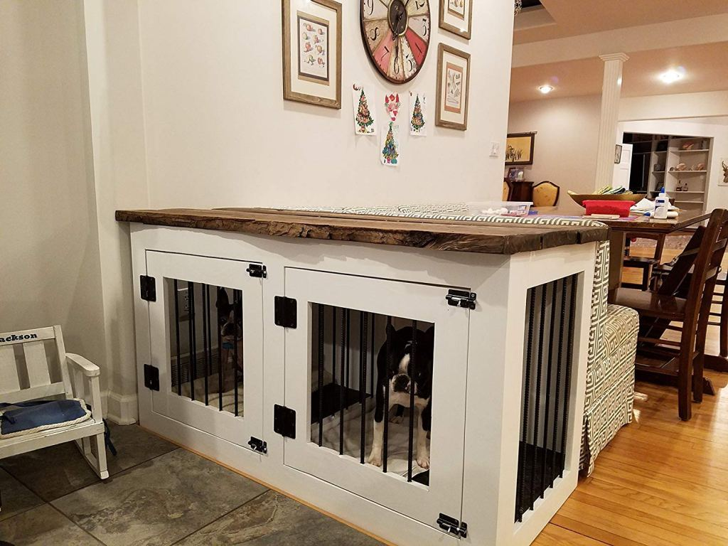 Custom Dog Crate Furniture