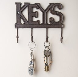 Housewarming Gifts | A quality key chain and/or key hook