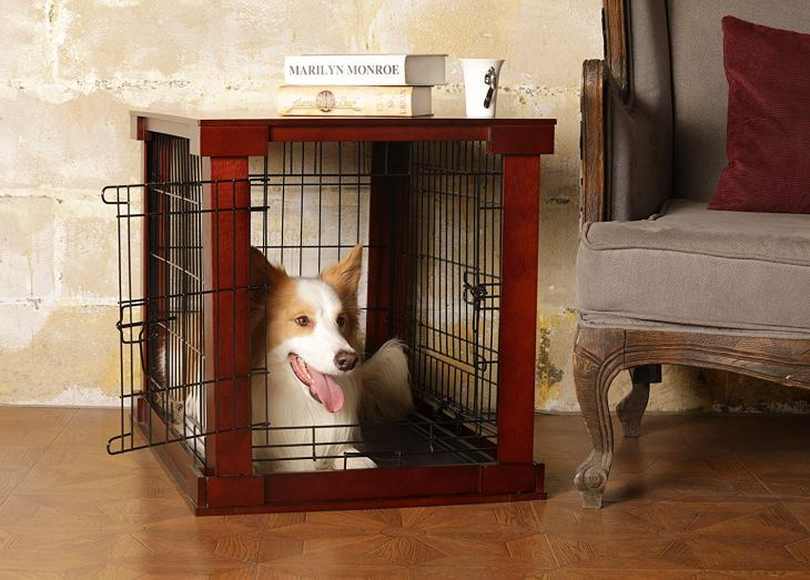 Merry Products Metal Dog Cage with Crate Cover Set