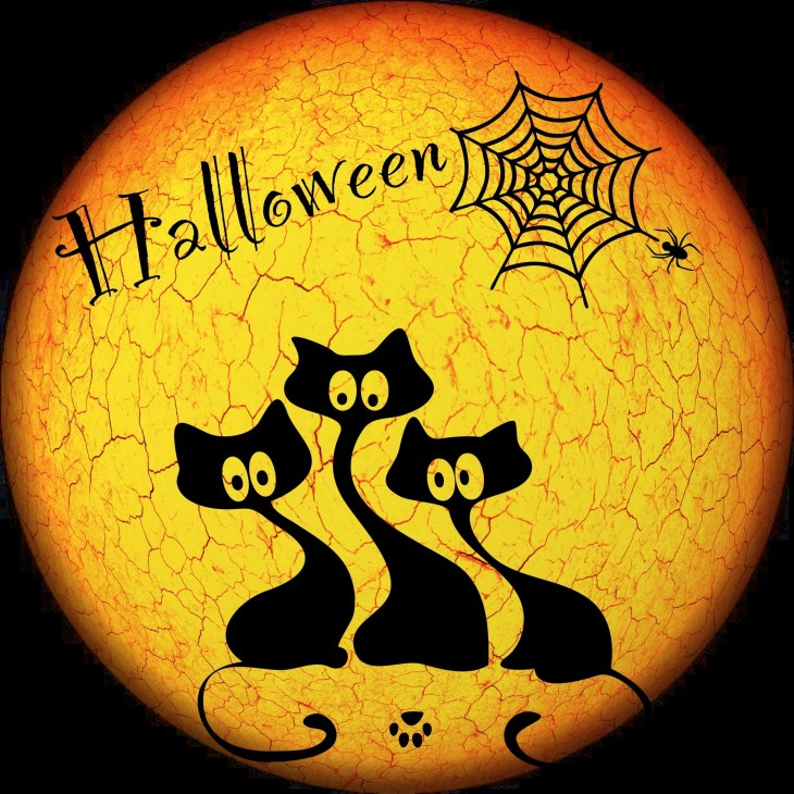 Black Cats Halloween Printable
