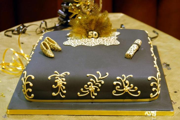 Cougar 50th Birthday Cake