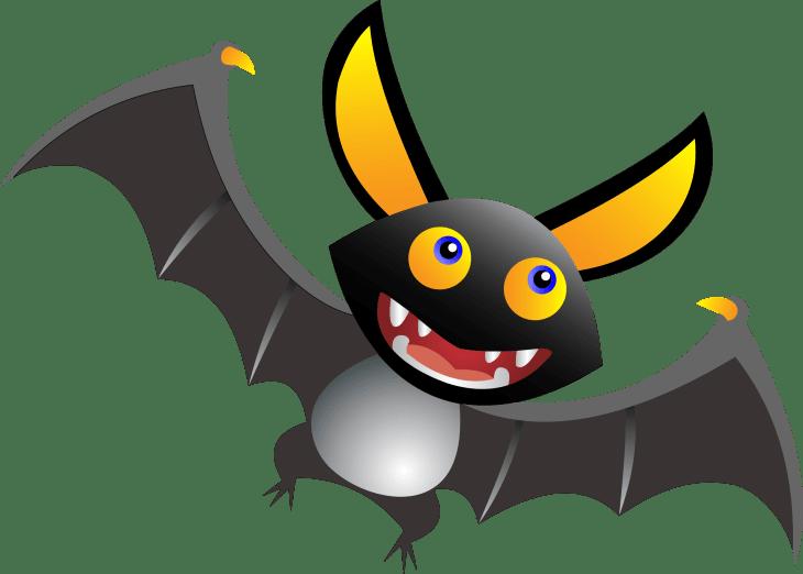 Cute Bat Halloween Printable Clip Art