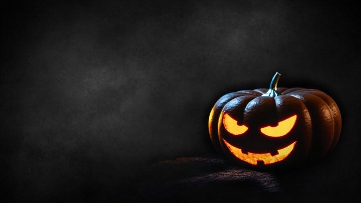 Evil Pumpkin | Printable Halloween Art