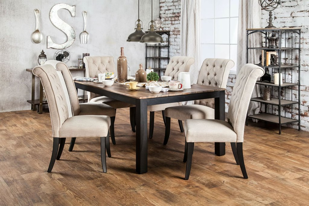 Industrial Style Dining Room Decor &  Accessories
