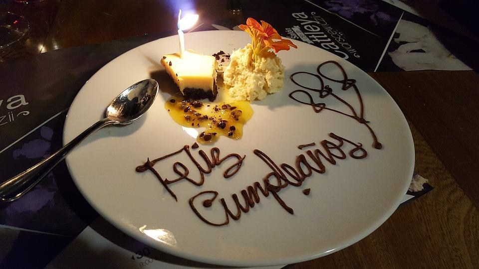 Single Serve Birthday Cake