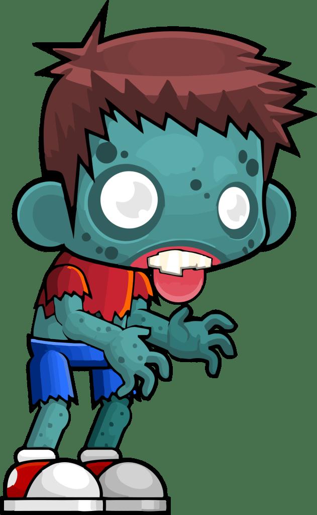 Zombie Boy Free Halloween Clipart