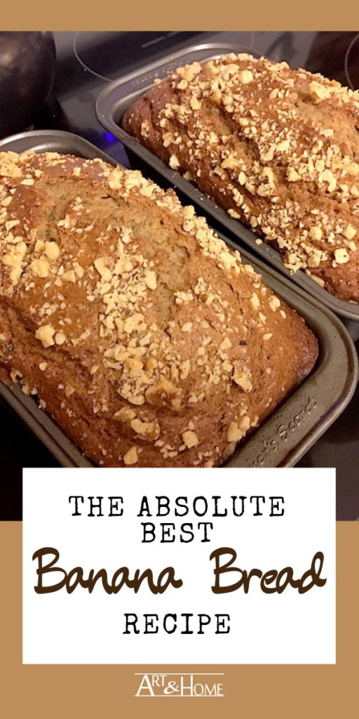 The Absolute Best Banana Bread Recipe