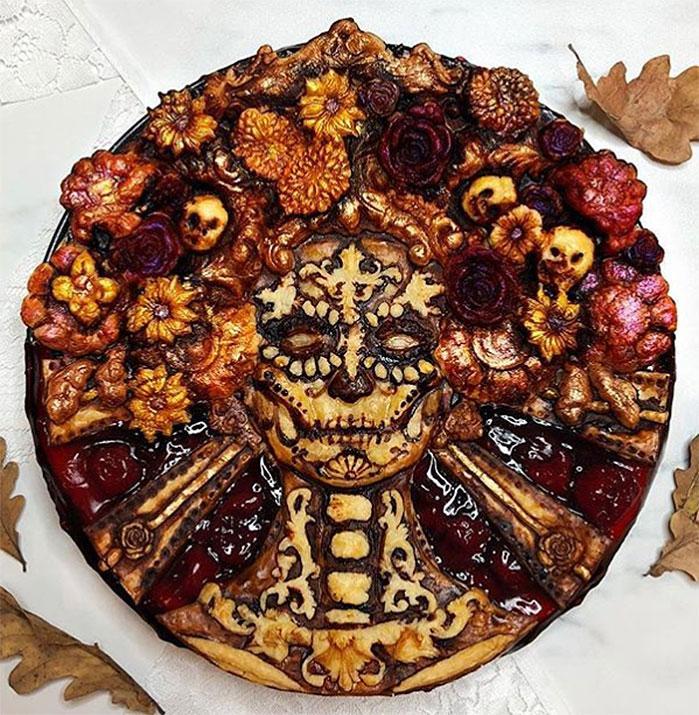 Dia de los Muertos Pie