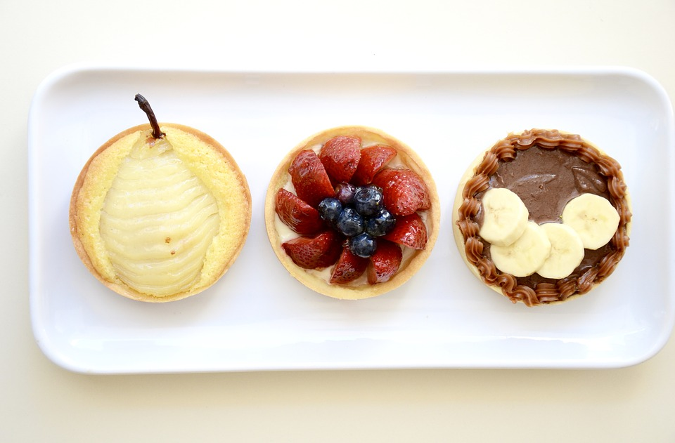 Fruit Tart Trio