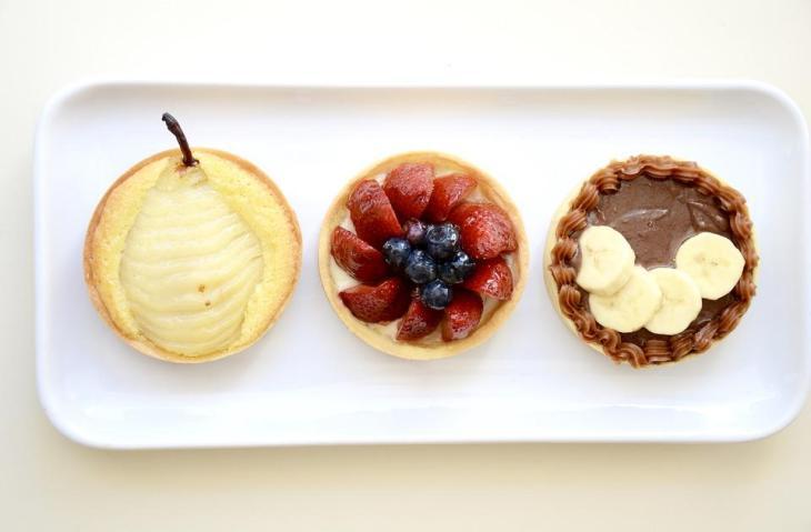 Fruit Tart Trio