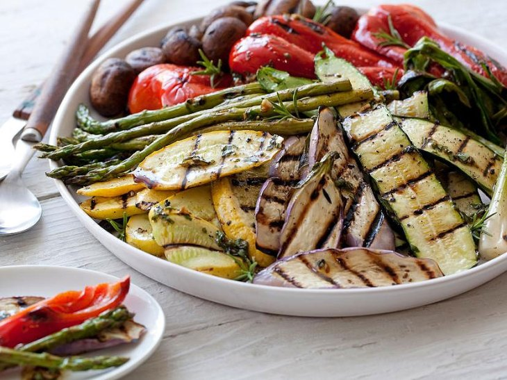 Giada De Laurentiis Grilled Vegetables Recipe