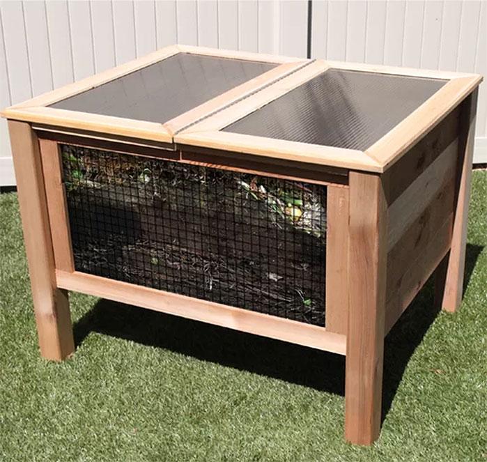 Gronomics Solar Assist Composter