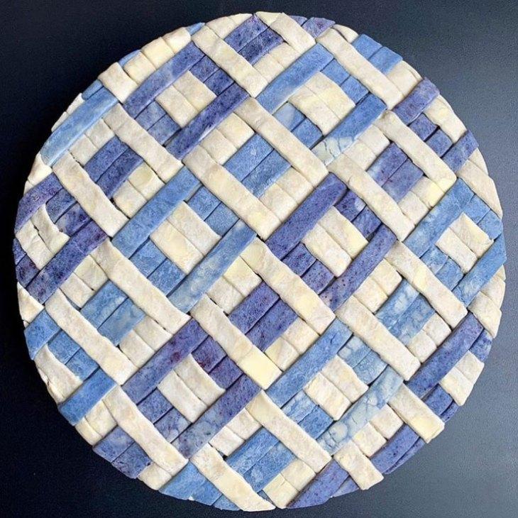 A stunning Lauren Ko pie design