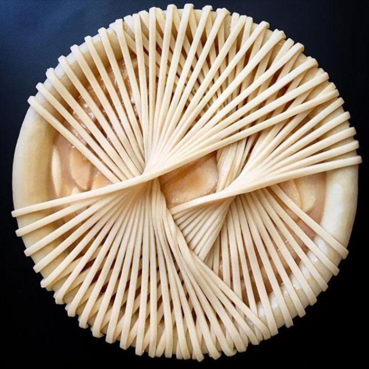 An amazing Lauren Ko pie design